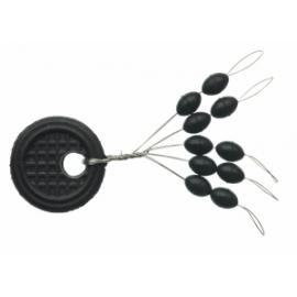 BLACK LINE STOPPER OVAL SENSAS